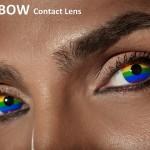עדשות rainbow בצבעי מצעד הגאווה